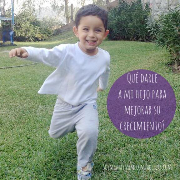 ¿Qué darle a mi hijo para mejorar su crecimiento?