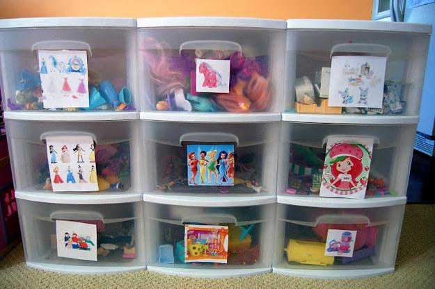 C mo organizar los juguetes de mis hijos soy mam y no - Cajas de madera para guardar juguetes ...